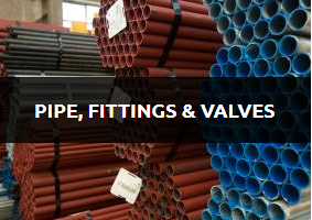 Pipe, Fittings & Valves